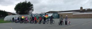 Year 5 Cycle Training first session